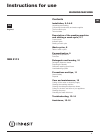 Indesit IWSC 5125 Usermanualmanual