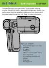Insignia NS-DV1080P Quick Setup Manual 8 pages