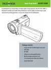 Insignia NS-DV111080F Quick Setup Manual 8 pages