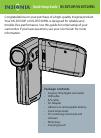 Insignia NS-DV720P Quick Setup Manual 8 pages