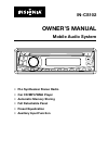 Insignia IN-CS102 Owner's Manual 16 pages