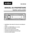Insignia IN-CS102 Manuel D'utilisation 16 pages