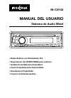 Insignia IN-CS102 Manual Del Usuario 16 pages