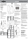 Insignia NS-IPSD2 Quick Setup Manual 1 pages