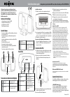 Insignia NS-IPSD2 Manual D'installation Rapide 1 pages