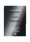 Insignia NS-24LD100A13 Información Importante 8 pages
