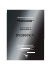 Insignia NS-24LD100A13 Information Importante 8 pages