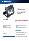 Itronix GD8000 Specifications 2 pages