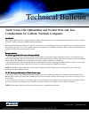 Itronix GoBook Q-200 Product Support Bulletin 2 pages