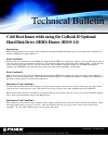 Itronix GoBook II Product Support Bulletin 1 pages
