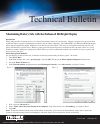 Itronix GoBook III Product Support Bulletin 2 pages