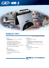 Itronix GoBook VR-1 Specifications 2 pages