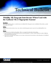 Itronix GoBook VR-1 Technical Bulletin 1 pages