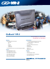 Itronix GoBook VR-2 Datasheet 2 pages