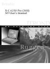 Itronix X-C 6250 Pro (300) Operation & User's Manual 153 pages