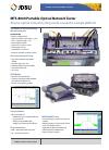 JDS Uniphase Portable Optical Network Tester MTS-8000