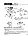 Jenn-Air GO106 Installation instructions