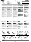JVC KV CR100 - Car Monitor Cradle Instructions 2 pages