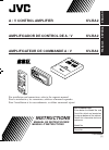 JVC KV-RA2 Instructions Manual 13 pages