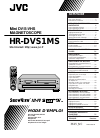 JVC HR-DVS1MS Installation &  Configuration Manual 84 pages