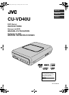 JVC CU-VD40U Instructions Manual 80 pages