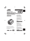 JVC GZ MG155 - Everio Camcorder - 1.07 MP Instructions manual