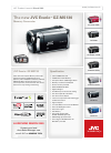 JVC GZ HD3 - Everio Camcorder - 1080i Brochure