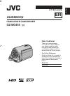 JVC GZ MG330 - Everio 30GB Hard Drive HDD 35x Optical Zoom Digital Camcorder BigVALUEInc Manual book