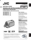 JVC GZ MG330 - Everio 30GB Hard Drive HDD 35x Optical Zoom Digital Camcorder BigVALUEInc Instructions manual
