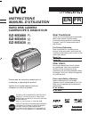JVC GZ MG630R - Everio Camcorder - 800 KP