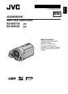 JVC Everio GZ-MG730 Manual book