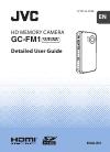 JVC GC-FM1 Detailed user manual