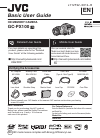 JVC GC-PX100 Basic user's manual