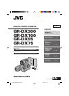 JVC GR-DX100