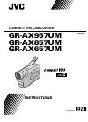 JVC GR-AX657UM