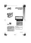 JVC GR-AXM17US Instructions manual