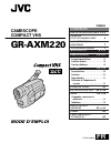 JVC GR-AXM220