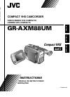 JVC GR-AXM88UM