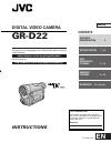 JVC GR-D22US