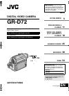 JVC GR-D72