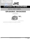 JVC GR-DA30UC Schematic diagrams