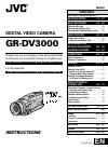 JVC GR-DV3000 Instructions manual