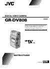 JVC GR-DV808