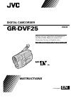 JVC GR-DVF25