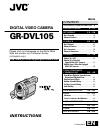 JVC GR-DVL105