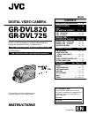 JVC GR-DVL725
