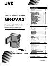 JVC GR-DVX2