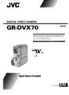 JVC GR-DVX70A