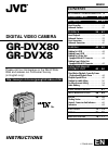 JVC GR-DVX8