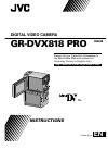 JVC GR-DVX818